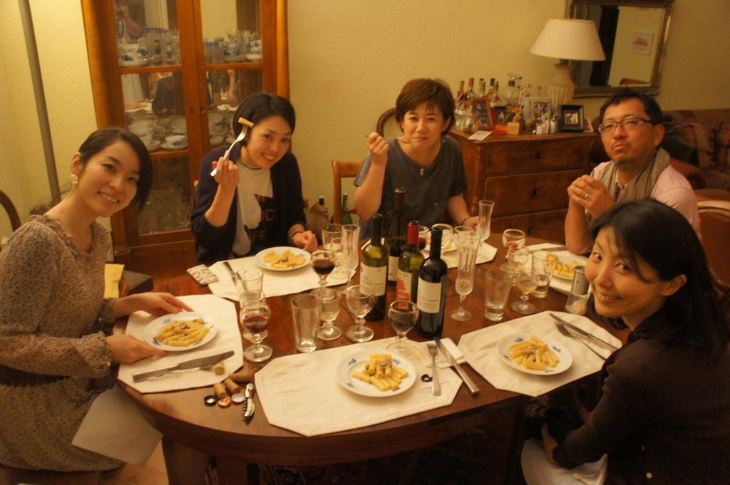 CXのS特派員、栄転お祝い晩餐。_c0180686_05450496.jpg
