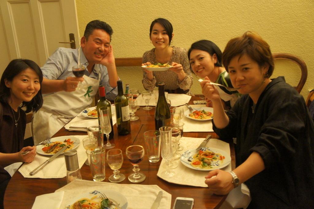 CXのS特派員、栄転お祝い晩餐。_c0180686_05450999.jpg