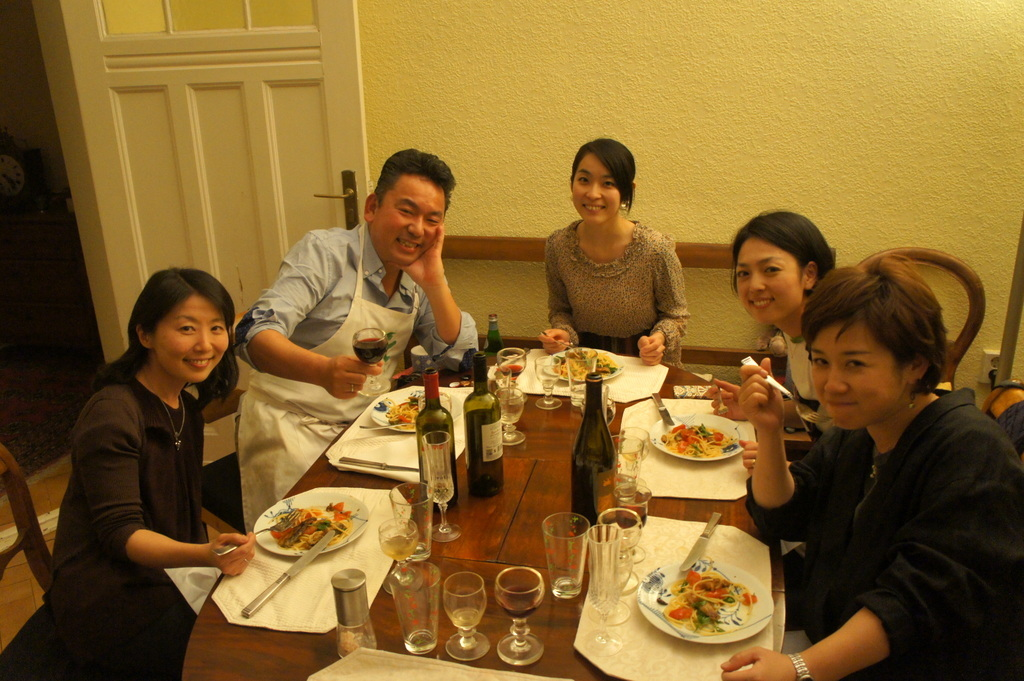 CXのS特派員、栄転お祝い晩餐。_c0180686_05451530.jpg