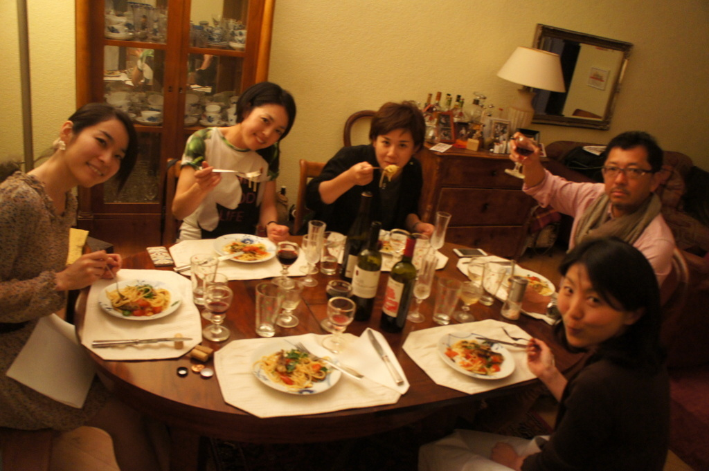 CXのS特派員、栄転お祝い晩餐。_c0180686_05452199.jpg