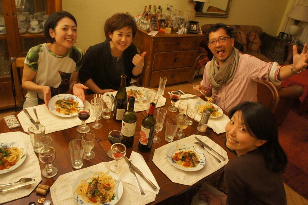 CXのS特派員、栄転お祝い晩餐。_c0180686_05453178.jpg