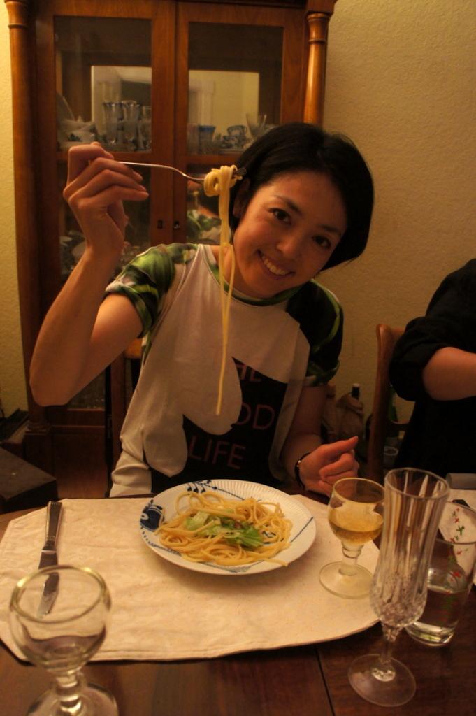 CXのS特派員、栄転お祝い晩餐。_c0180686_05455226.jpg