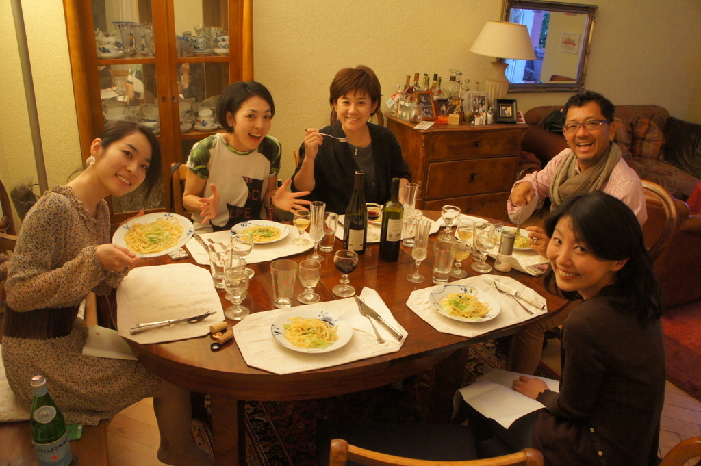 CXのS特派員、栄転お祝い晩餐。_c0180686_05460576.jpg