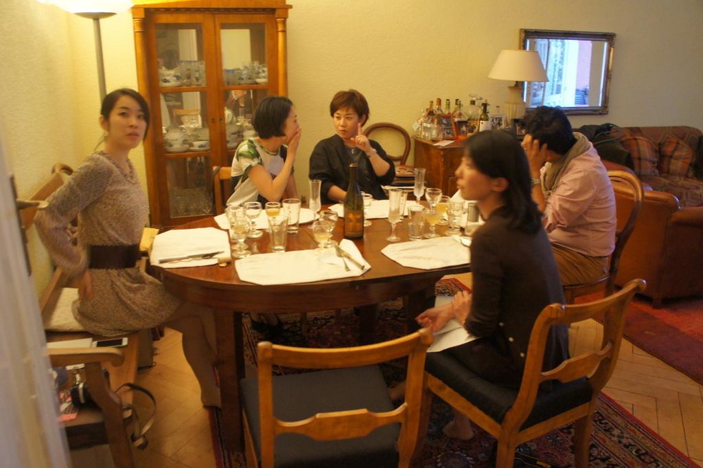 CXのS特派員、栄転お祝い晩餐。_c0180686_05462181.jpg