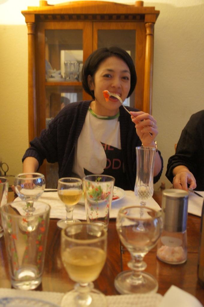 CXのS特派員、栄転お祝い晩餐。_c0180686_05462615.jpg