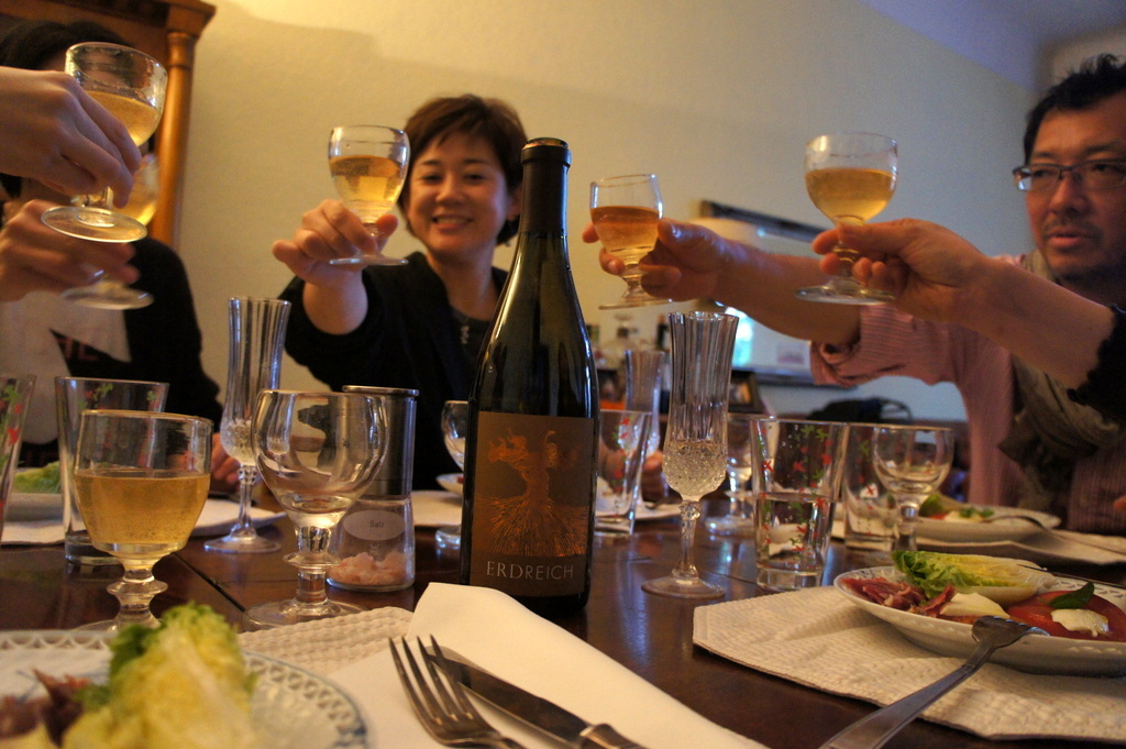 CXのS特派員、栄転お祝い晩餐。_c0180686_05464363.jpg