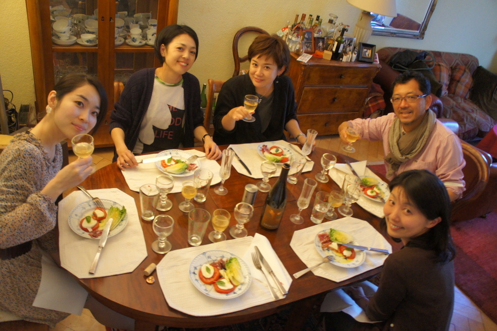 CXのS特派員、栄転お祝い晩餐。_c0180686_05465000.jpg
