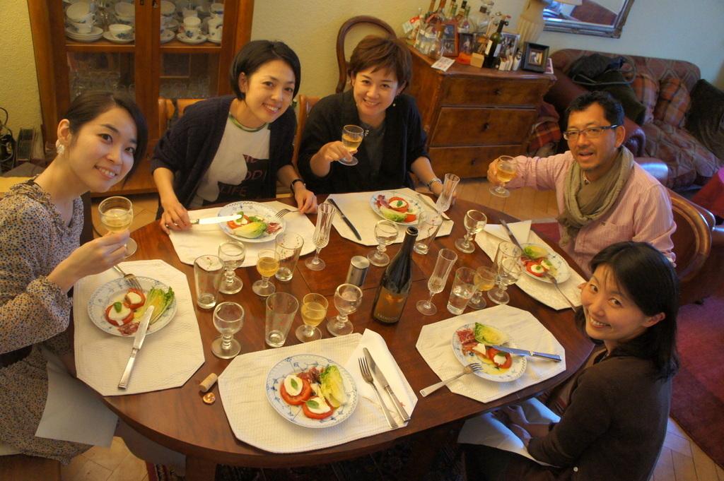 CXのS特派員、栄転お祝い晩餐。_c0180686_05465793.jpg