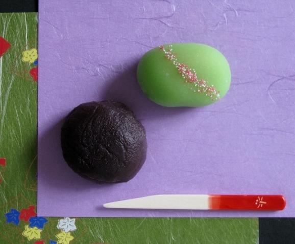 萩の花とおはぎ * Japanese clover (hagi) and o-hagi_c0345705_08543333.jpg
