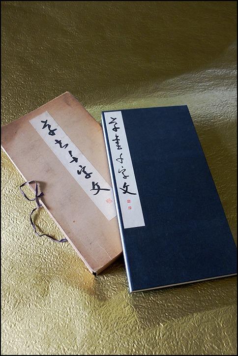 松川玉堂先生の二十一回目のお習字は<千字文>と<平成>の文字_a0031363_22345333.jpg