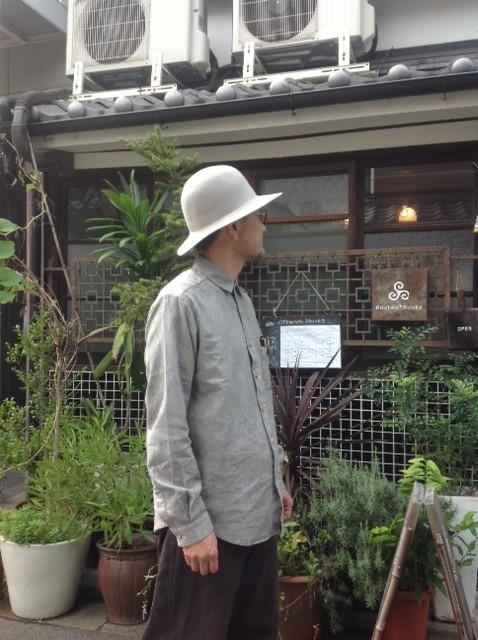 THE HINOKI (ザ・ヒノキ)コットン・リネン・ワークシャツ_e0248492_1315078.jpg