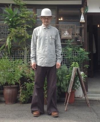 THE HINOKI (ザ・ヒノキ)コットン・リネン・ワークシャツ_e0248492_1317217.jpg