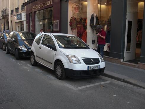 パリのシトロエン_f0079218_1843830.jpg
