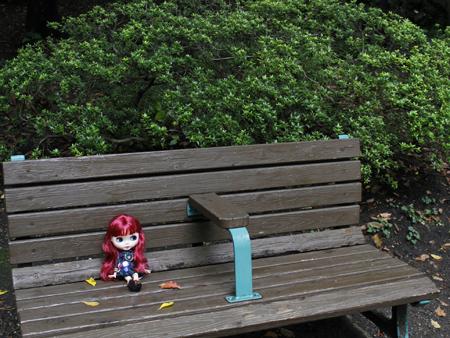 東京タワー横の公園でブライス外撮り_a0275527_21543358.jpg