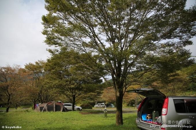 雨のち晴れのキャンプ@snow peak 奥日田 -前編-_d0140234_19543625.jpg