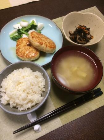 豆腐ハンバーグ_d0235108_20092082.jpg
