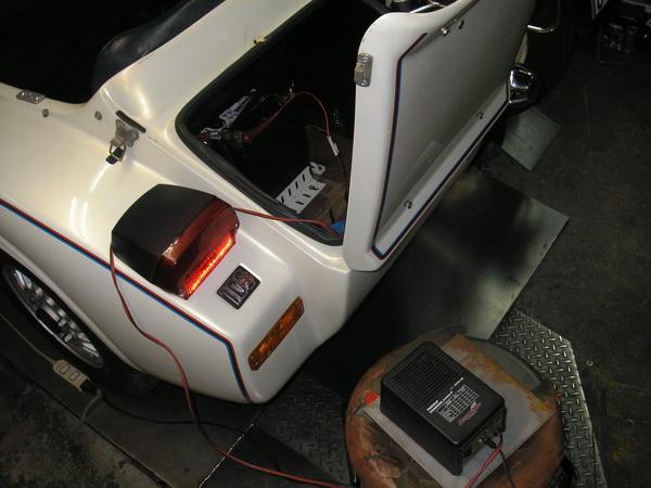 BMW R100RS+クマガヤ 継続検査と他(ステーの補修)_e0218639_10561621.jpg