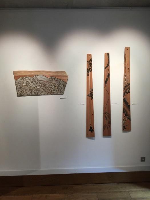 福井安紀 ー土と石で描く板絵展ー_e0255740_10444508.jpg