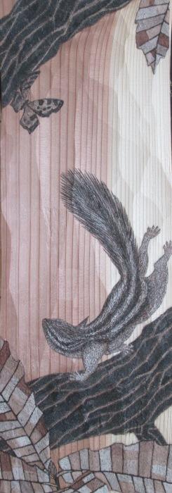 福井安紀 ー土と石で描く板絵展ー_e0255740_10452220.jpg