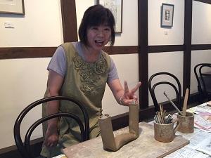 第40回むくのき倶楽部陶芸教室_f0233340_14151439.jpg