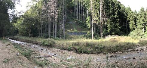 森林の適切な管理の重要性を改めて〜3年前の豪雨被害から@矢巾町南昌山〜_b0199244_9303166.jpg