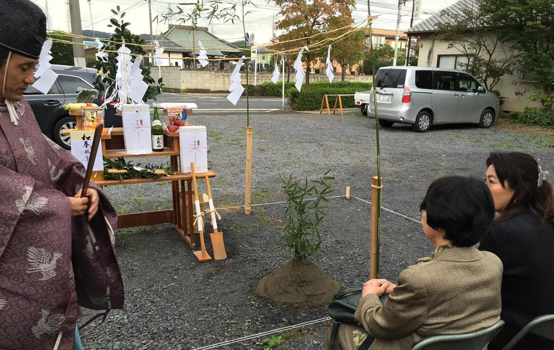 赤門セミナー太田校 地鎮祭_e0127948_23391066.jpg