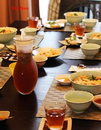 xin chao  10月のレッスン ~フエ屋台の朝食・しじみご飯の会~_d0353281_22370277.jpg