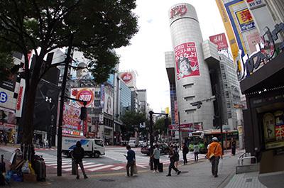 10月11日(火)今日の渋谷109前交差点_b0056983_11390347.jpg