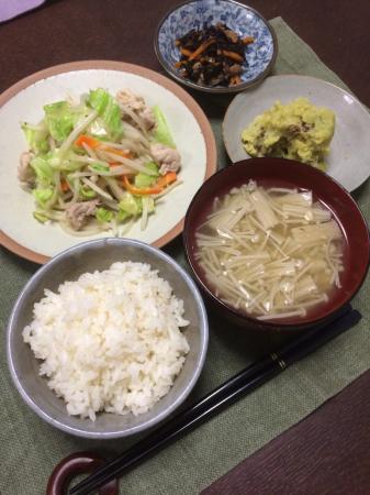 肉野菜炒め_d0235108_20115161.jpg