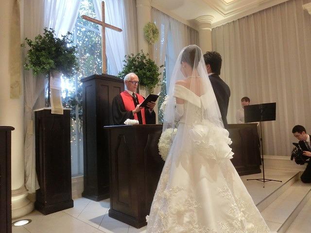 次女の結婚式で初めてのバージンロードとモーニング_f0141310_74755100.jpg