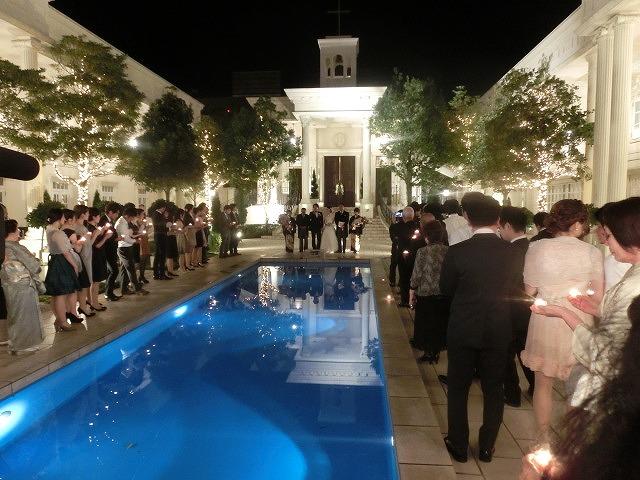 次女の結婚式で初めてのバージンロードとモーニング_f0141310_7491092.jpg