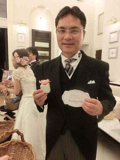 次女の結婚式で初めてのバージンロードとモーニング_f0141310_7492231.jpg
