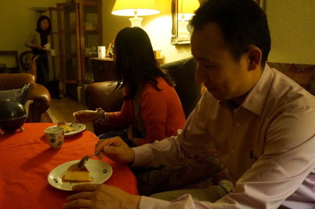 炭火焼送別晩餐。_c0180686_08211836.jpg