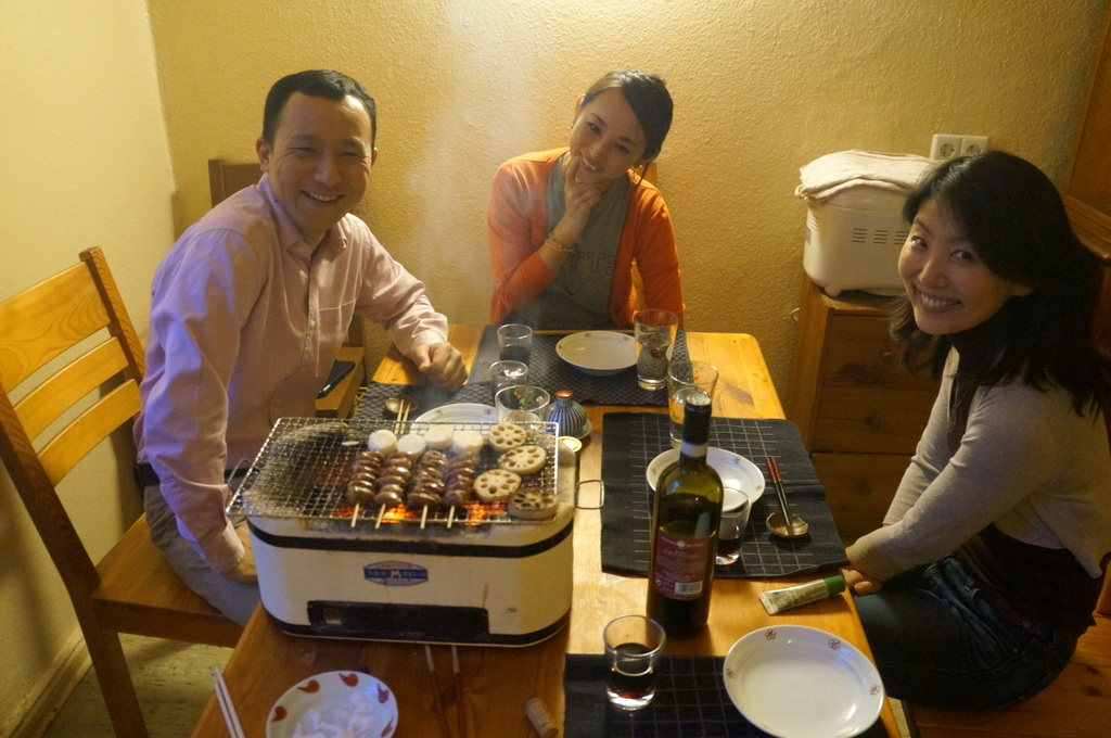 炭火焼送別晩餐。_c0180686_08255089.jpg