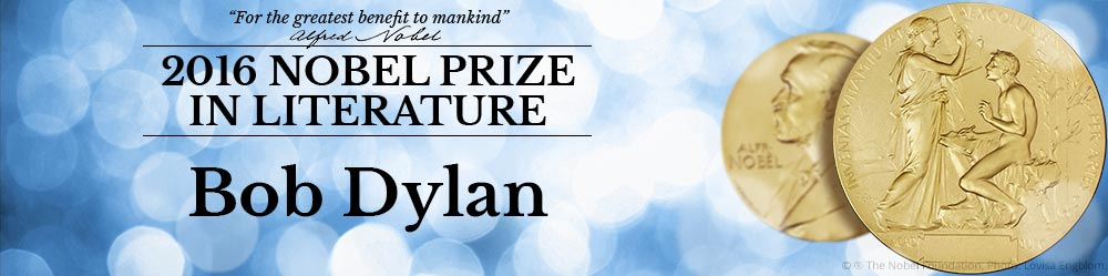今年のノーベル文学賞は?:なんとフォークソング歌手ボブ・デュランへ!_a0348309_225371.jpg