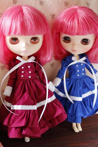 ルナちゃん、ドレスのリボンを変えてみたいと言い張って・・・_a0275527_23463646.jpg