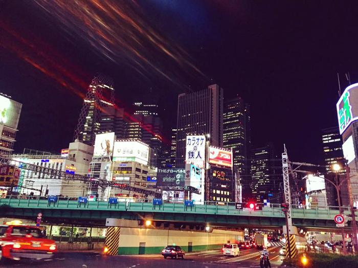 靖国通り 新宿大ガード東 / iPhone 6_c0334533_16040314.jpg
