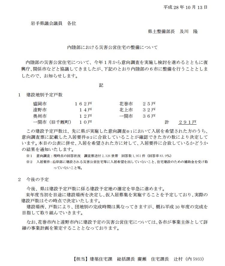311東日本大震災にかかる内陸部への災害公営住宅の整備=6市に合計291戸_b0199244_125026.jpg