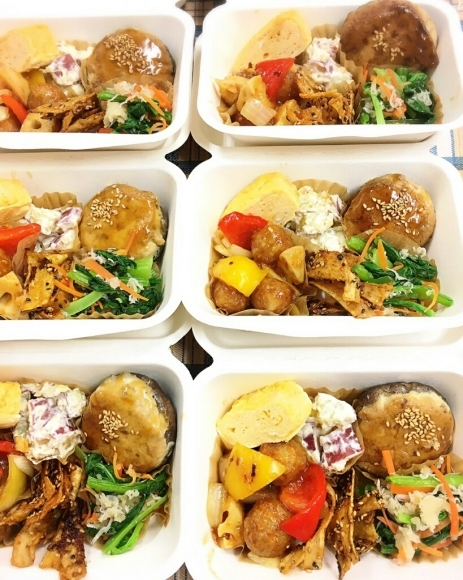 女子が喜ぶ、お野菜だけなのにお腹いっぱい大満足のお弁当_c0199544_07110059.jpg
