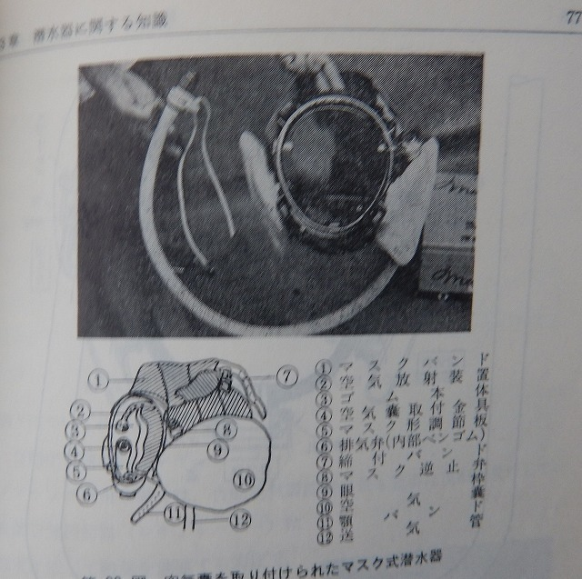 1013  マスク式潜水 旭式-1_b0075059_22193634.jpg