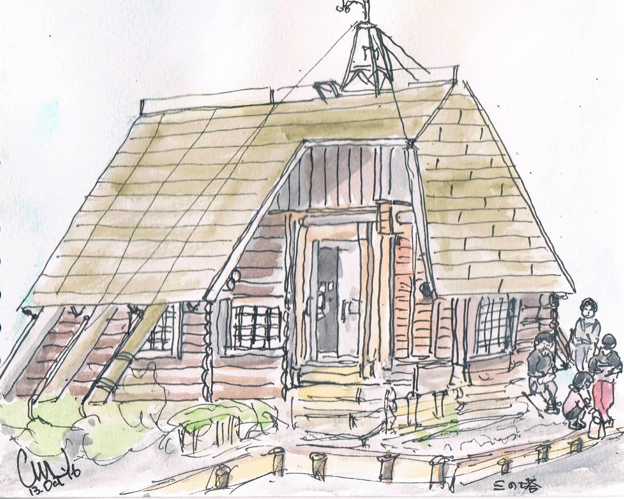 三の塔の避難小屋_e0232277_11522437.jpg