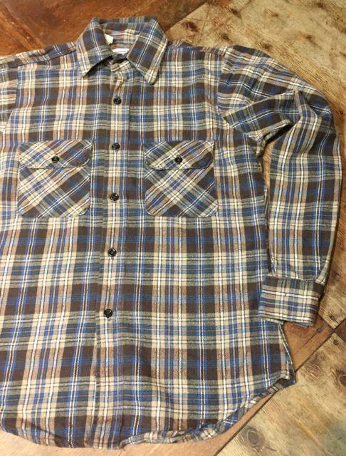 10/15(土)入荷! FiveBrothers ネルシャツ サイズS!_c0144020_16274637.jpg