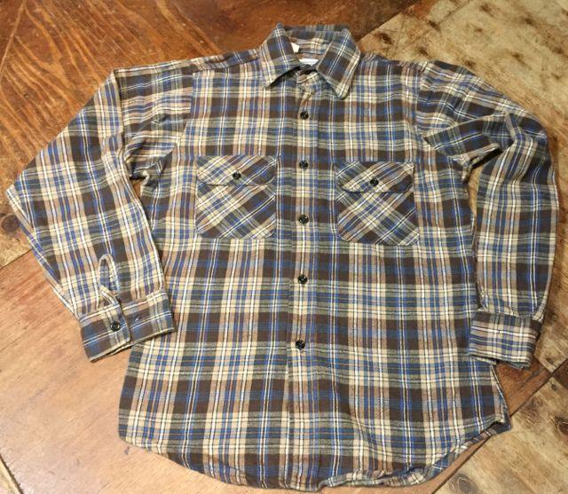 10/15(土)入荷! FiveBrothers ネルシャツ サイズS!_c0144020_16274829.jpg
