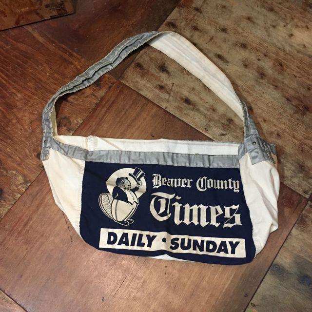 NEWS PAPER BAG ! _c0144020_16293634.jpg