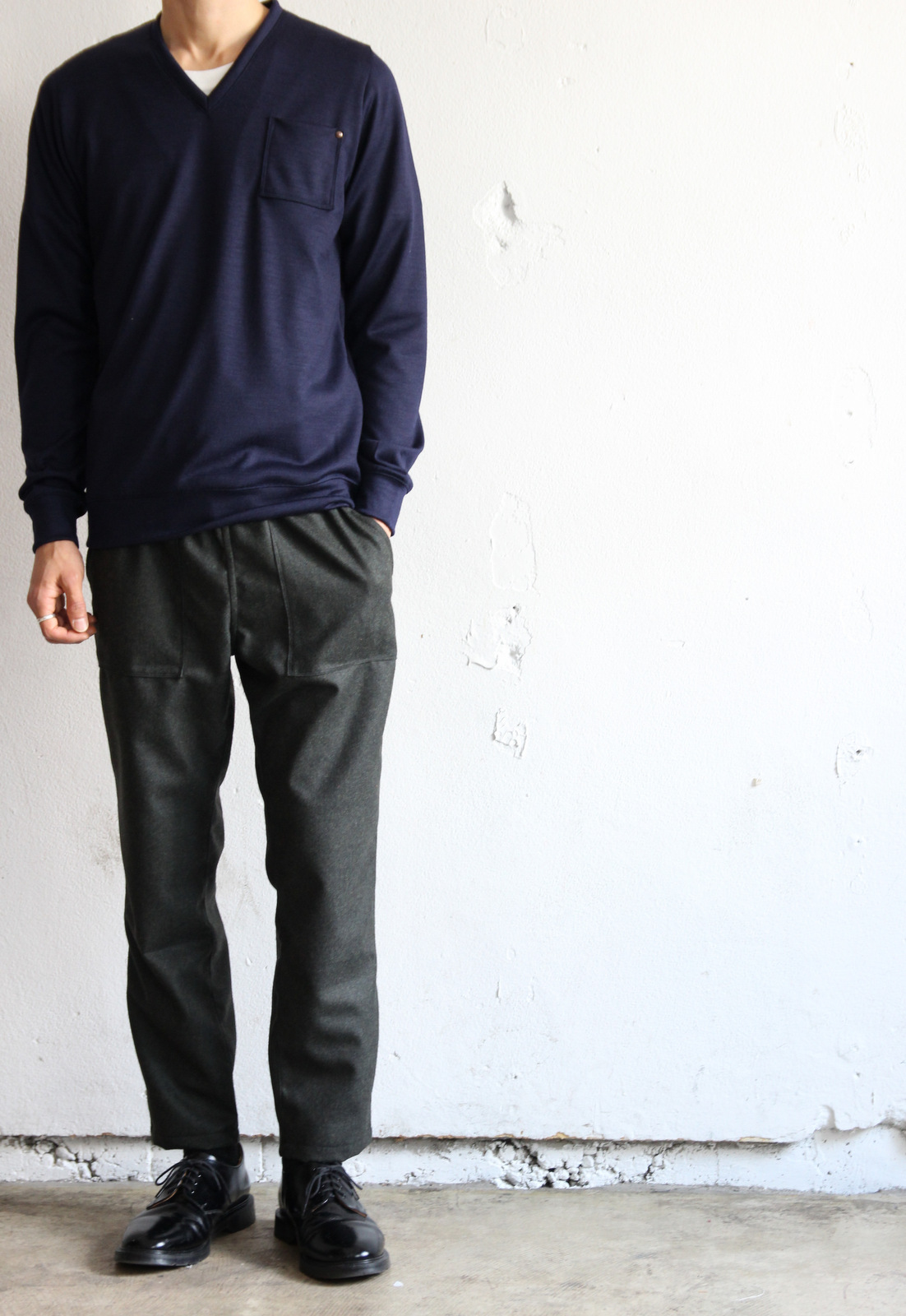 Wool Flannel Ankle PTS _e0142928_19341457.jpg
