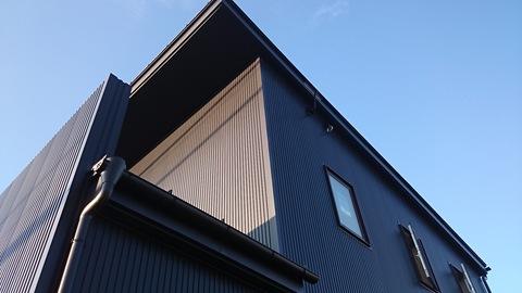 波田の住宅 ~足場が外れました_e0180332_1893178.jpg