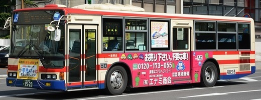 福島交通 三菱ふそうKL-MP37JK +MBM_e0030537_23195573.jpg