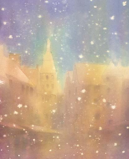 雪 水彩画_f0176370_119168.jpg
