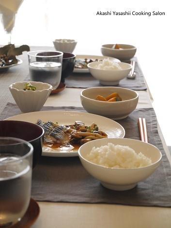 秋刀魚のムニエルLesson5_f0361692_09173552.jpg