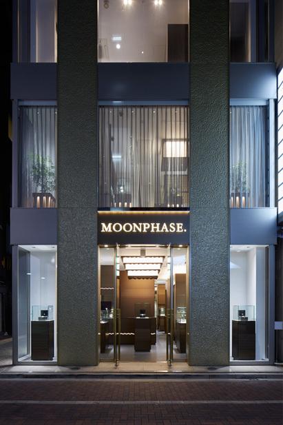 「MOONPHASE. 銀座店」商店建築2015年10月号_e0350593_13514681.jpg